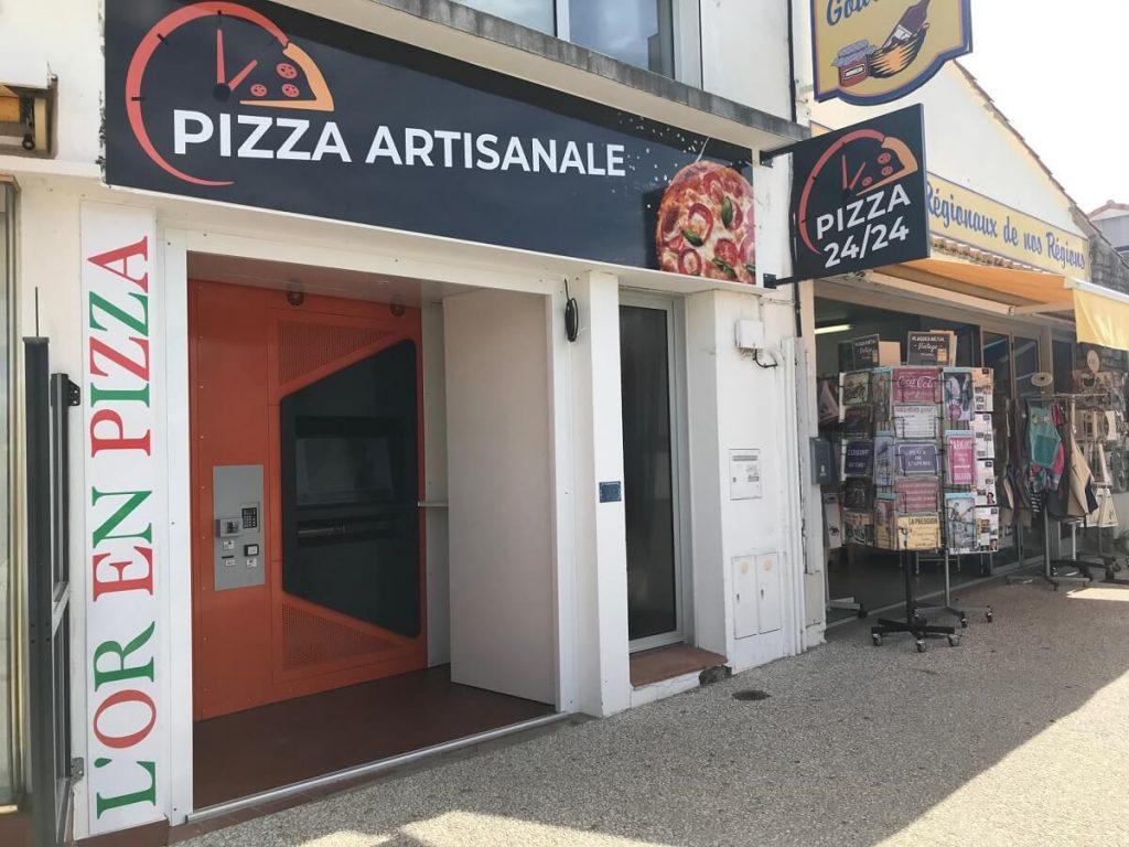 Distributeur de pizza à Fromentine
