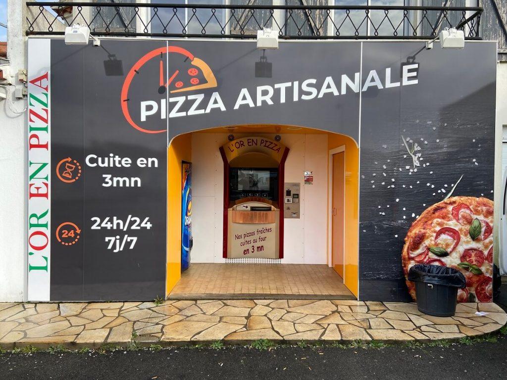 Distributeur de pizza à Beauvoir sur Mer